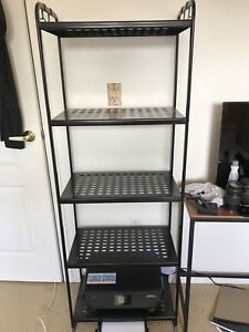 IKEA black shelf