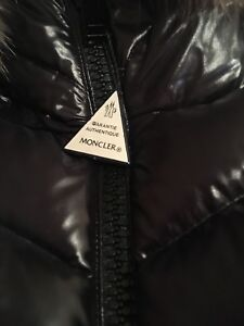 WOMENS LONG DOWN MONCLER WINTER JACKET