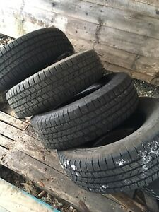 4 tires 265/70R17 for sale