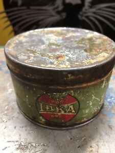 1920's IOKA Cup Grease Can (Irving Oil)
