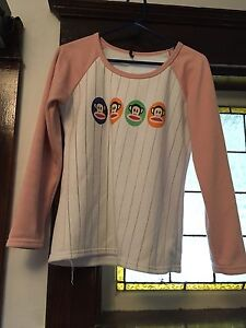 Pink and white Paul Frank long sleeve