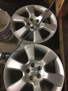 "17"" Matrix Xrs Rims"