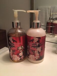 Bath and Body Works Hand Soap and Lotion