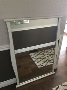 Large framed mirror, French provincial style