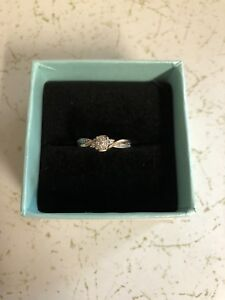 Rose/White gold ring for sale