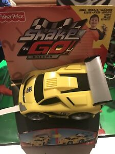 Fisher Price Shake n Go Racer exotic car  *RARE*