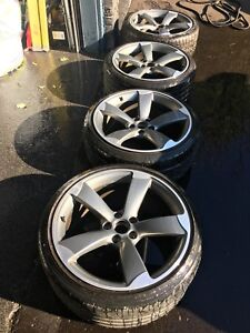 Oem Audi Rotor wheels S5 rear and S4 front