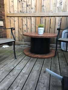 Painted and stained table