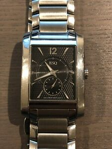 Men's ESQ By Movado Stainless Steel Swiss Watch