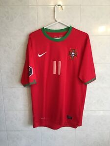 Portugal Home Jersey #11 Nelson Oliviera New