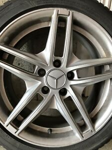 4 Winter Tires on rims Mercedes Benz C300