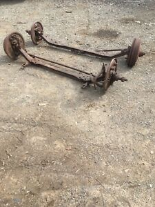 Drop axle rat rod