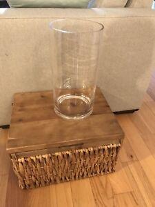 Gros vase en verre