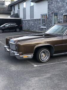 Lincoln continental 1973