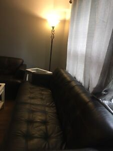 Leather sofa $700