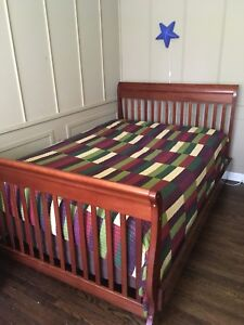 single Twin Bed + Complete Drawer set