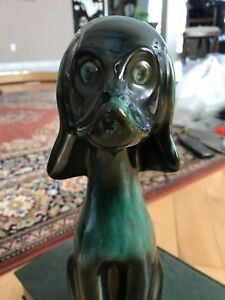 """Blue Mountain Pottery Grande Chien large dog 15"""""""