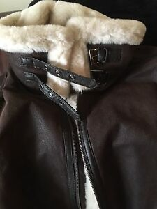 Genuine ladies Suede Leather Jacket Kitchener / Waterloo Kitchener Area image 5