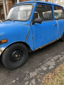 1979 classic mini left hand drive handyman special