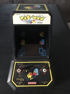 Coleco Pac Man mini table top arcade game