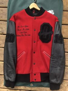 1/1 Drake OVO Raptors Roots exclusive varsity jacket