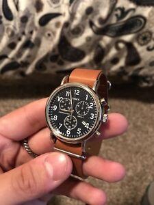 Timex weekender chronograph (new)