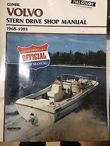 Clymers Volvo stern drive repair manual