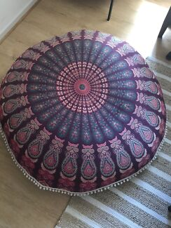 Mandala bean bag.