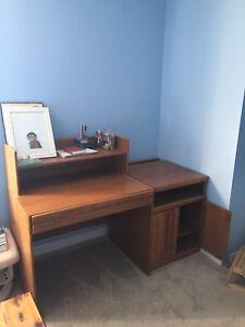Desk - solid wood