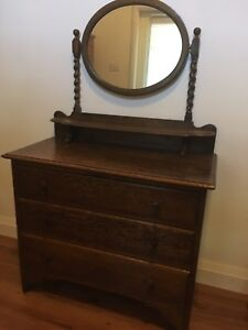 Dresser, chest of drawers,  night table