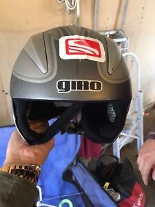 Children's Ski Racing Helmet.
