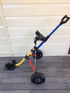 Junior Golf Buggy, used twice - adjustable height - folds down