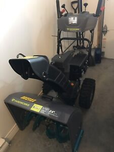 Yardworks snowblower 24 inch