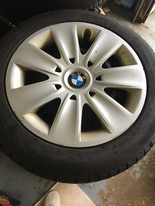 205 55 16 Michelin on BMW Steel wheels