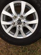 200 series vx sahara rims and tyres 18 inch 5x150 x5 landcruiser Ellen Grove Brisbane South West Preview