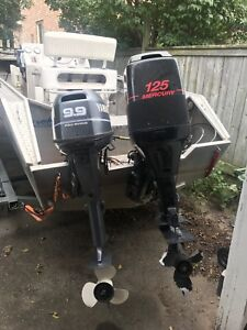 2 outboard engines
