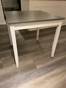 Farmhouse wood dining table