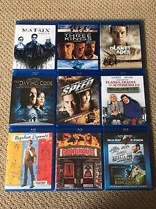 Blu-ray Movies x8