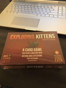 Exploding Kittesn Card Game NEW
