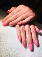 Sculpted gel nails $25