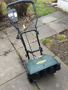 Yard works electric snow shovel