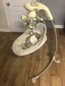 Fisherprice automatic swing rocker - monkey