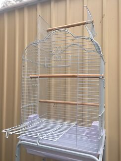 BRAND NEW - open roof bird cage only is $65each;trolley extra $30