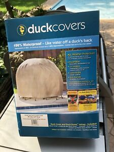 Authentic duck dome patio cover