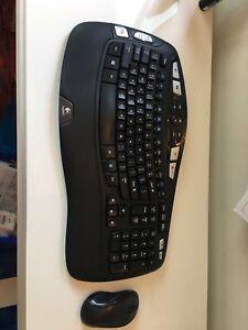 Logitech Wireless keyboard and mouse