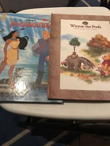SELLING POCAHONTAS AND WINNIE THE POOH BOOK!