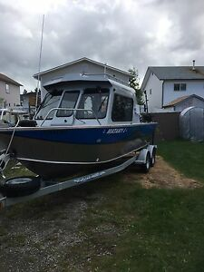 2012 - 22 ft Hewescraft Searunner ETHT 24 ft overall