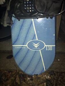 Vision snowboard 138cm with bindings