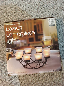 Two Basket Centerpiece Lights