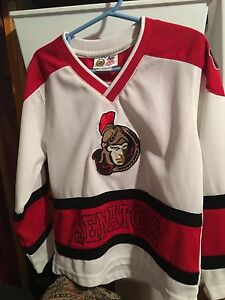 NHL Ottawa senators child jersey